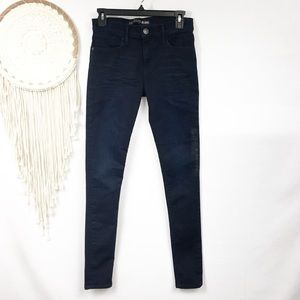 New express dark skinny legging jeans 8